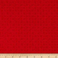 Penny Rose Shabby Strawberry Houndstooth Red from @fabricdotcom  Designed by Rebecca Baer for Penny Rose, this cotton print is perfect for quilting, apparel and home decor accents. Colors include shades of red.