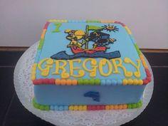 Woezel en pip birthday cake