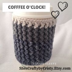 Your place to buy and sell all things handmade Mug Cozy, Coffee Cozy, Knitting Projects, Crochet Projects, Handmade Clothes, Handmade Items, Handmade Gifts, Roommate Gifts, Cozy Cover