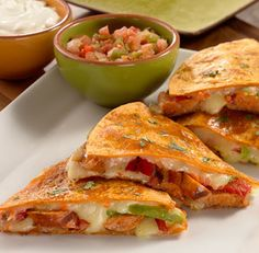 al fresco Smoked Andouille Chicken Sausage Quesadilla
