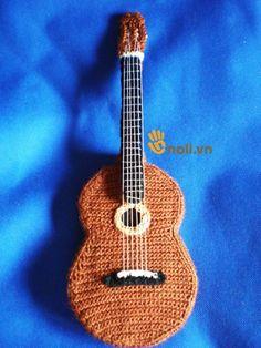 Chitarra Elettrica Miniatura Sacchetto Strumento Musicale Abbellimenti Music