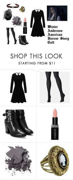 """""""Winter Anderson American Horror Story: Cult Inspired"""" by sages-fandom-fashion on Polyvore featuring Avenue, Nasty Gal, Smashbox and Bobbi Brown Cosmetics"""