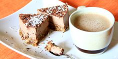 Cheesecake Vegan al cioccolato e cappuccino crudista