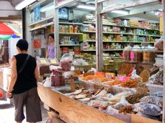 Chinese Herbs, in china town market NYC