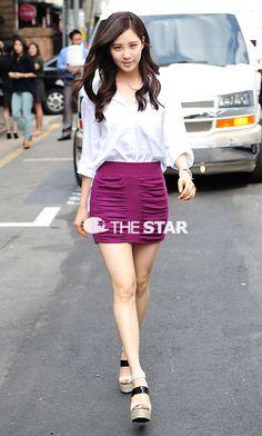 Seohyun from SNSD work work fashion baby~