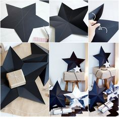 Best 12 DIY Paper Star Decoration #christmas #diy #diychristmas – SkillOfKing.Com