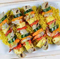 roasted garlic chicken sausage shrimp kabobs more grilled roasted ...
