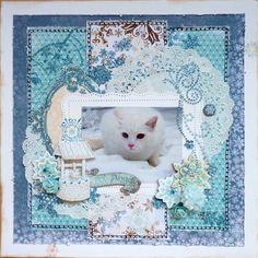 Snow Angel *Bo Bunny* - Scrapbook.com
