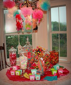 Candy Party for Chick Chat
