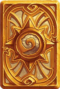 "The Card Backs of Hearthstone - ""Golden Celebration"""