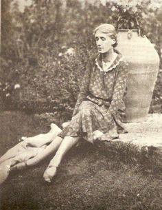 Virginia Woolf at Monk's House, 1931