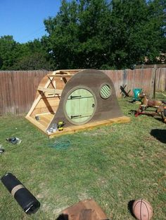 My friends think I'm kidding when I say I'll have a hobbit house of my own