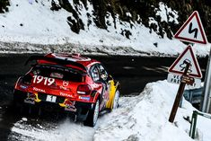 Sébastien Ogier, Julien Ingrassia, Citroën World Rally Team Citroen WRC. Photo by Citroën Communication on January 2019 at Rally Monte Carlo. Browse through our high-res professional motorsports photography Monte Carlo, Rallye Wrc, Rally Car, Motogp, Fast Cars, Sport Cars, Racing, World, Vehicles