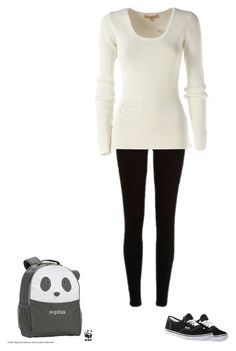 """Untitled #505"" by themadhattersnightmare on Polyvore featuring River Island, Michael Kors, Vans and PBteen"