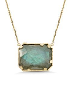Whitney Stern 14k 14.10 ct. Diamond & Labradorite Necklace is on Rue. Shop it now.
