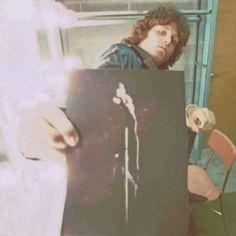 """""""Rare Jim Morrison picture."""