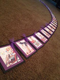 Pin Up Girl Bachelorette Banner by KrissysKustomKrafts on Etsy, $25.00