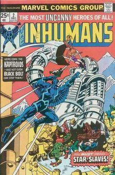 THE INHUMANS 2, BRONZE AGE MARVEL COMICS