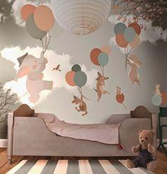 40 Adorable Nursery Room Ideas For Boy 14 Baby Boy Rooms, Baby Bedroom, Nursery Room, Girls Bedroom, Nursery Decor, Trendy Bedroom, Nursery Murals, Bedroom Ideas, Bedroom Decor