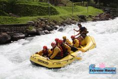 #ExtremeWaves #Rafting in #ValdiSole #Trentino