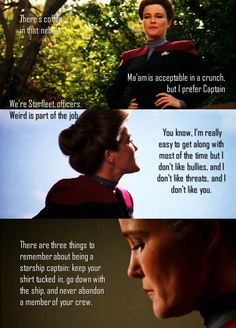 Captain Kathryn Janeway, ST: Voyager