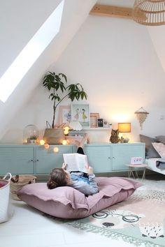Kids room decor - Children's room inspiration. Baby Room Decor, Bedroom Decor, Pastel Room Decor, Wall Decor, Diy Wall, Bedroom Ideas, Deco Kids, Kids Room Design, Room Kids
