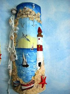 tegole natalizie decorate decoupage - Cerca con Google