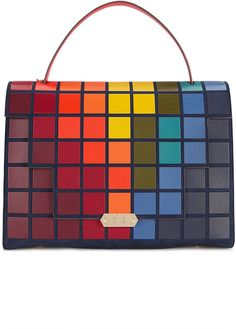 Anya Hindmarch Bathurst Giant Pixels Satchel