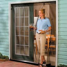 Good The First And Best Magnetic Screen Door   Bug Off Screen