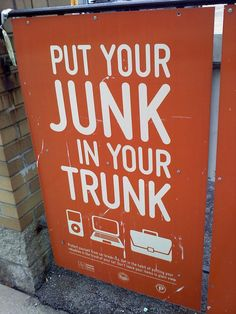 A funny play on words gets the point across and makes us laugh. #signhumor