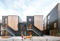Soziale Seifenfabrik  Wohnungsbau in Brüssel fertiggestellt