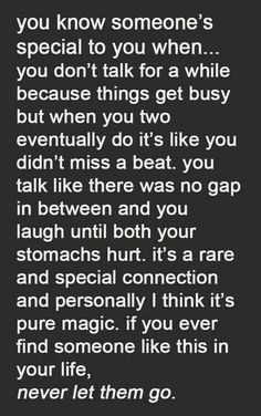 WE HAVE THIS...WE'RE BOTH THAT SPECIAL PERSON FOR EACH OTHER...NO WAY WERE GOING TO LET EACH OTHER GO ❤❤