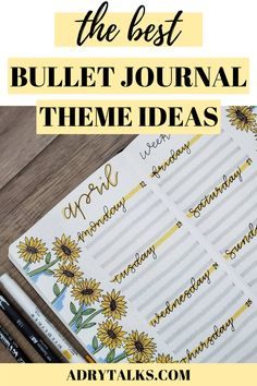 Are you looking for fun bullet journal themes? Here are 30 themes for your bullet journal that you're sure to love! Bullet Journal Contents, Bullet Journal And Diary, Bullet Journal For Beginners, Bullet Journal Books, Bullet Journal Tracker, Bullet Journal School, Bullet Journal How To Start A, Bullet Journal Themes, Bullet Journal Layout