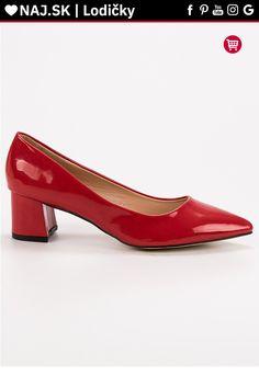 Elegantné červené lodičky Diamantique Kitten Heels, Platform, Shoes, Fashion, Moda, Zapatos, Shoes Outlet, Fashion Styles, Shoe