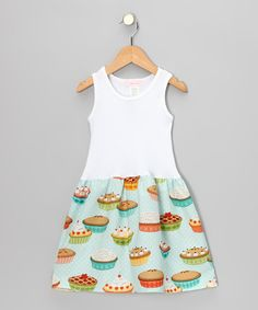 LOVE this Pie print!!!  Take a look at this Light Blue Dessert Time Dress - Infant & Toddler by Alejandra Kearl Designs on #zulily today!  Today 10/19/12 is the last day of this SALE.
