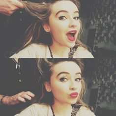 """Such a great Flashback Friday picture of Sabrina Carpenter from """"Girl Meets World"""" and Bradley Steven Perry (""""Mighty Med"""") together. Miss Sabrina mention"""