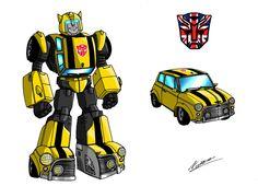 Transformers UK, 2 Bumblebee by taresh.deviantart.com on @deviantART