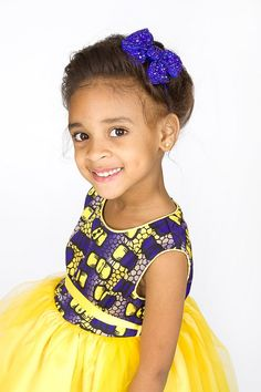 The children& brand Shells Belles Kids is coming back for this autumn winter 20 . African Babies, African Children, African Girl, African Women, African Print Dresses, African Fashion Dresses, African Dress, African Prints, African Attire