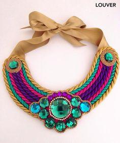 #moda#louvermarbella#collar#multicolor#cordon#complementos#