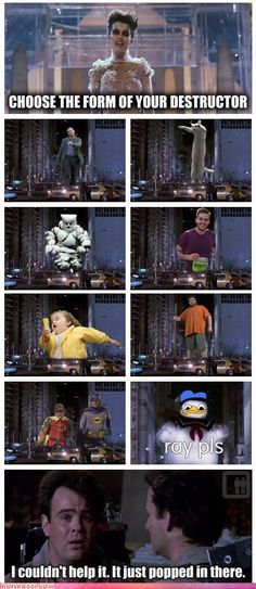 If Ghostbusters had to battle internet memes...