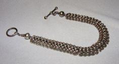 Vintage Ornate Sterling Silver Bracelet