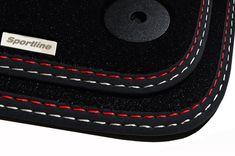 Fußmatten Audi A3 8P 3 5 Türer Original Qualität Velours Chrom Logo+4 Schrauben