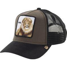 Goorin Brothers Animal Farm Trucker Hat - Wild Collection King/Brown