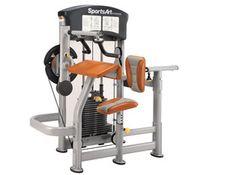 Máquina de musculación dual Bíceps/ Tríceps DF105 de SportsArt.