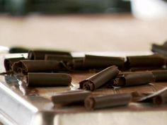 Get Chocolate Curls Recipe from Food Network