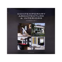 Contemporary architecture & interiors - yearbook 2011 The designer touch for your interiors and wellness Contemporary Architecture, Interior Architecture, Lettering, Wellness, Touch, Reading, News, Books, Design