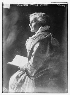 Kate Waller Barrett (1857-1925) - born in Falmouth, Stafford County, Virginia, and buried at Aquia Episcopal Church in Stafford County. Humanitarian, physician, and wife of Reverend Robert South Barrett. #Stafford350 Read more here:  http://www.librarypoint.org/kate_waller_barrett