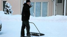 President Niinistö wins the 2012 elections, and spends the morning after by shoveling snow. According to the studies, Finland is one of the most equal countries to live in