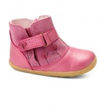 @bobux | Sweetheart Boot in Pink | #babywear #babygirls #babyshoes