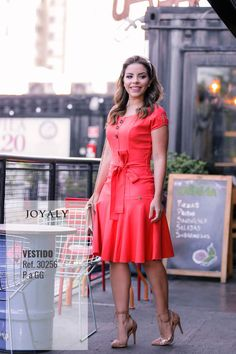 619a2cb63c98 Vestido LADY LIKE joyaly Moda Evangélica. - joyaly - Vestido em linho -  executiva feminina